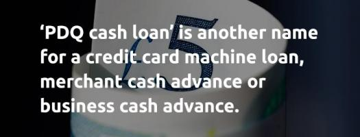 So, what is a PDQ cash loan_