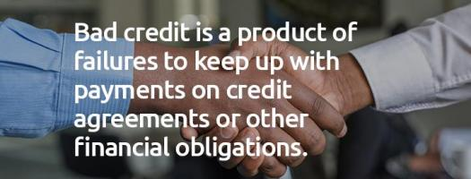 What is bad credit_