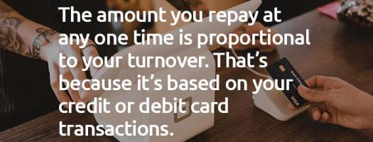 Repayments are scalable